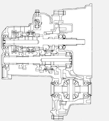 Схема МКПП Короллы